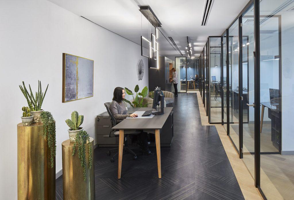 תכנון ועיצוב משרדי חברת ב.ליטאי ושות' ניהול סיכונים