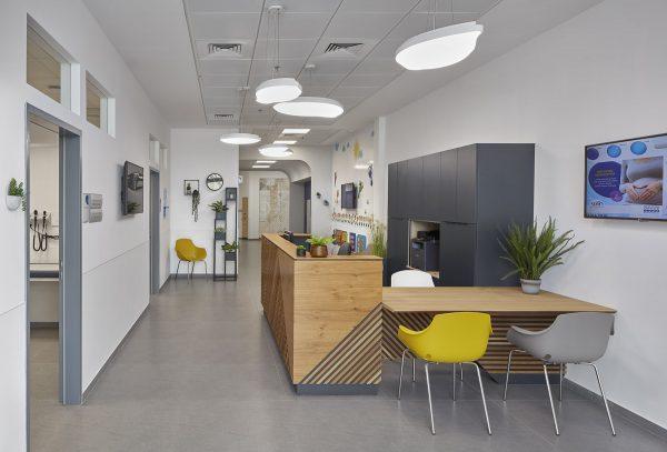 תכנון ועיצוב עיצוב בית רופאים- מכבי